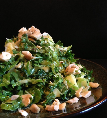 kale_pineapple_brussel_slaw