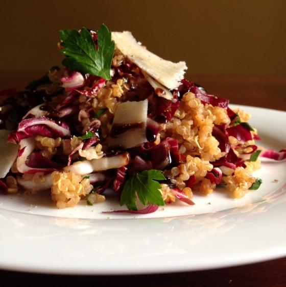radicchio-quinoa